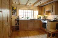image: pottery cottage modern fitted kitchen